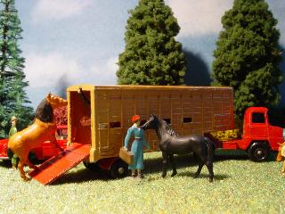 Matchbox Jennings Cattle Truck 1960